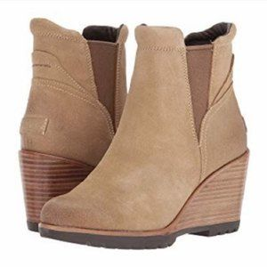 Sorel Tan Beige Ankle Boots